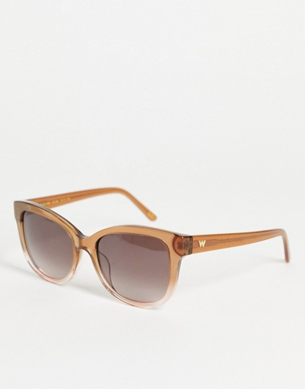 送料無料 安心の定価販売 サイズ交換無料 業界No.1 ホイッスルズ レディース アクセサリー サングラス butterfly Whistles Brown frame アイウェア sunglasses