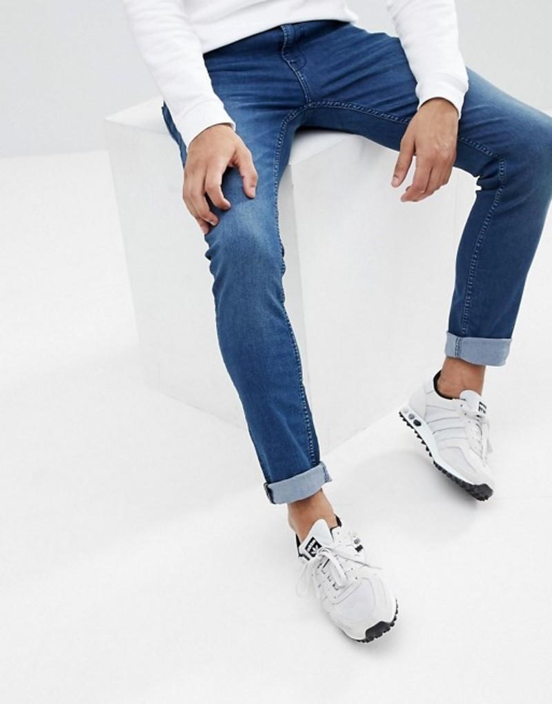 ブレンド メンズ デニムパンツ ボトムス Blend Cirrus Skinny Jeans Midwash Darkwash