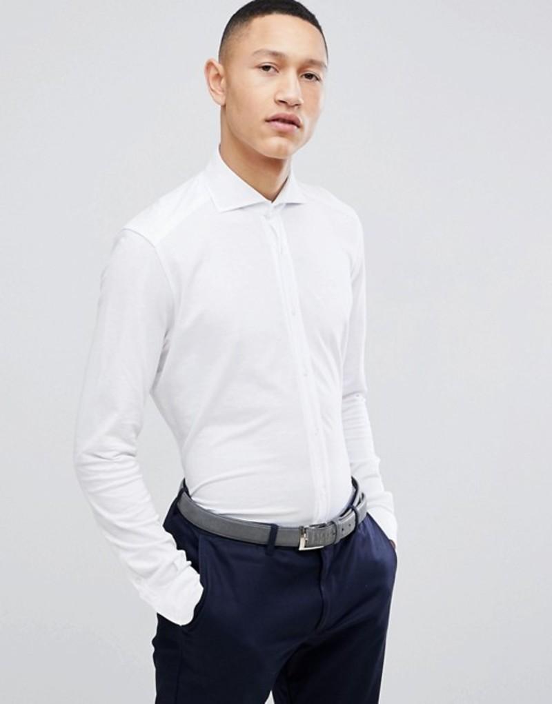 レイス メンズ シャツ トップス Reiss Smart Slim Shirt In White White
