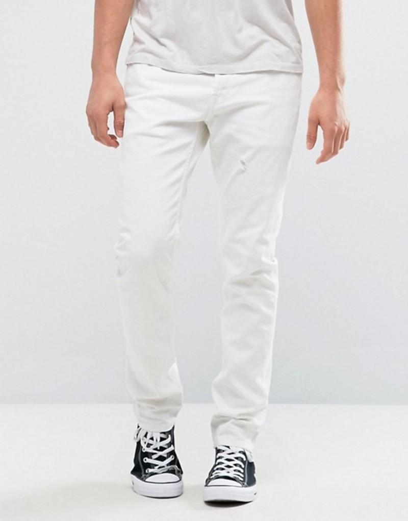 オールセインツ メンズ デニムパンツ ボトムス AllSaints Weott Rex Jeans In White White