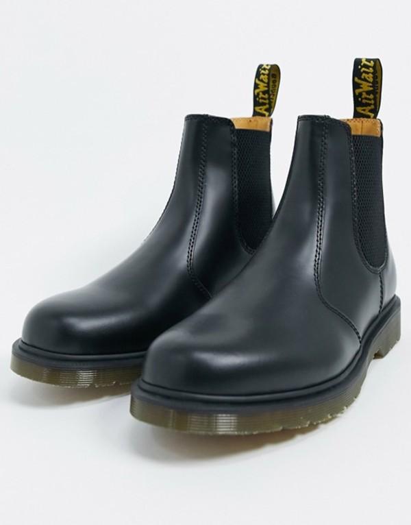 送料無料 サイズ交換無料 ドクターマーチン メンズ シューズ ブーツ・レインブーツ Black ドクターマーチン メンズ ブーツ・レインブーツ シューズ Dr Martens 2976 chelsea boots in all black Black