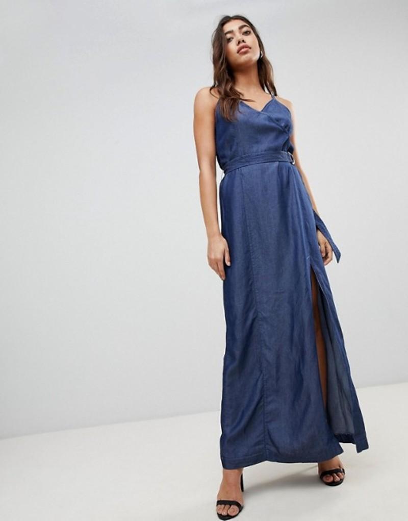 ジースター レディース ワンピース トップス G-Star Denim Maxi Dress Rinsed