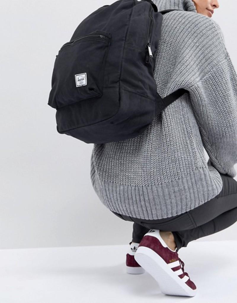 ハーシャル レディース バックパック・リュックサック バッグ Herschel Supply Co. Daypack Backpack in Black 01047 black