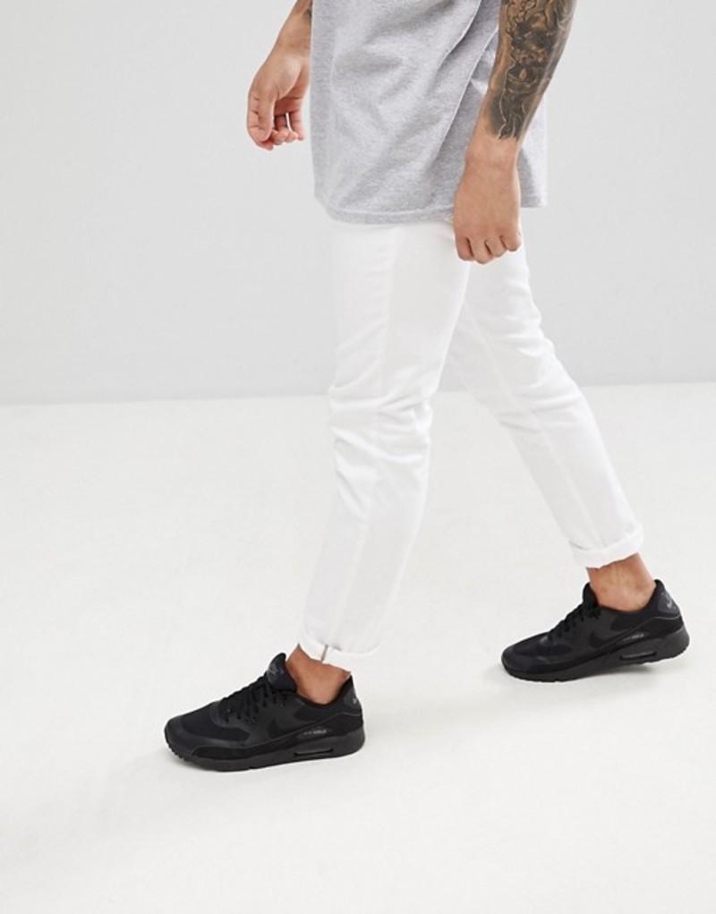 アンソニーモラート メンズ デニムパンツ ボトムス Antony Morato Skinny Jeans In White White
