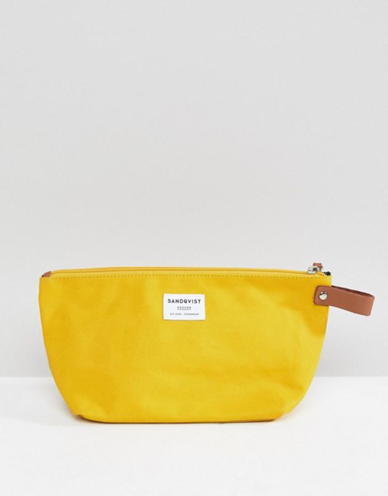 サンドクヴィスト メンズ ボディバッグ・ウエストポーチ バッグ Sandqvist Sandqvist バッグ Cleo Toiletry Cleo Bag Yellow, ハッピーガーデン:9bd38b86 --- jphupkens.be