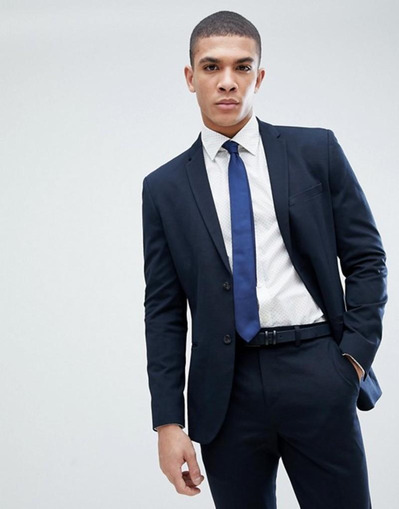 ジャック アンド ジョーンズ メンズ ジャケット・ブルゾン アウター Jack & Jones Premium Slim Suit Jacket Dark navy
