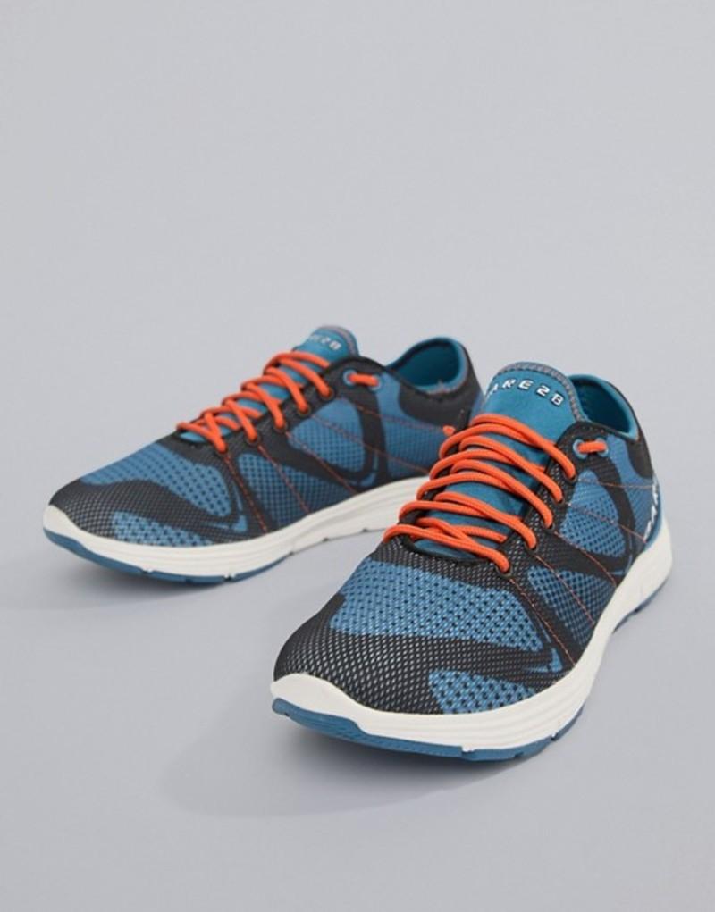 デアツービー メンズ スニーカー シューズ Dare 2b Fitness Gym Sneaker Blue