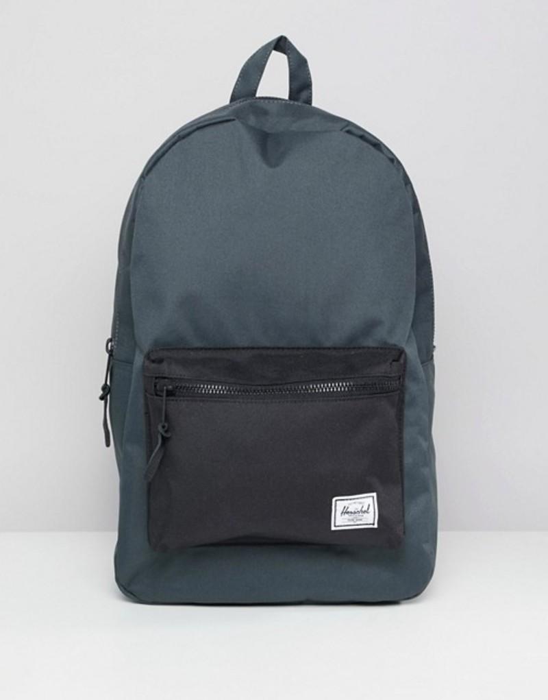 ハーシャル メンズ バックパック・リュックサック バッグ Herschel Supply Co Settlement Backpack 23L Black