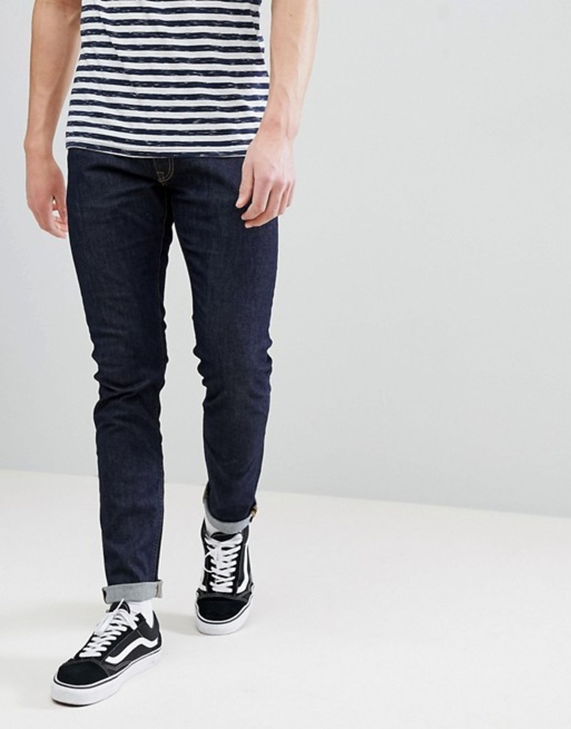 リー メンズ デニムパンツ ボトムス Lee Luke Skinny Jeans in Rinse Wash (Darkwash) Rinse