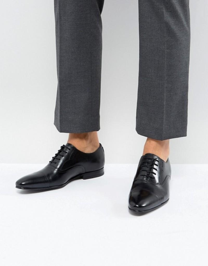 テッドベーカー メンズ オックスフォード シューズ Ted Baker Murain Leather Oxford Shoes In Black Black