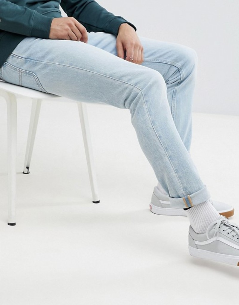リー メンズ デニムパンツ ボトムス Lee Rider Slim Jeans in Moonstone (Light Wash) Moonstone