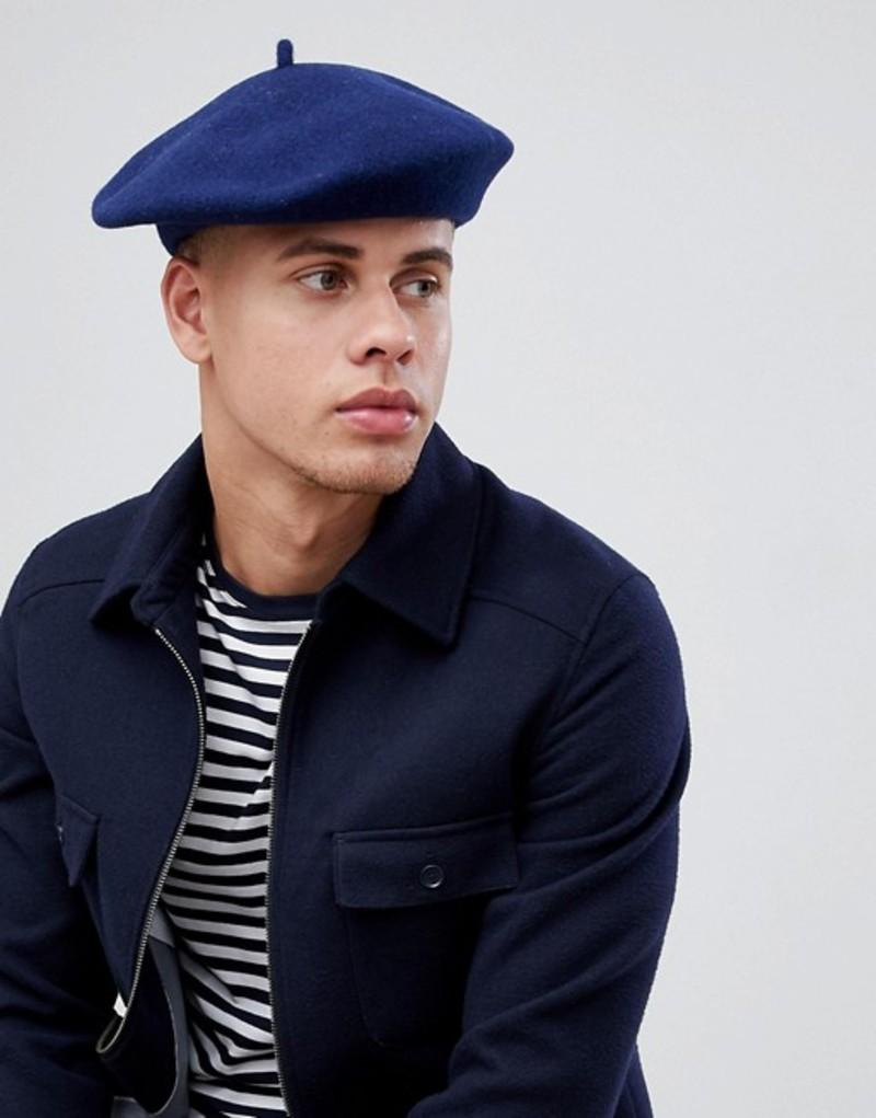 ゴーリン メンズ 帽子 アクセサリー Goorin Budsky Beret Navy
