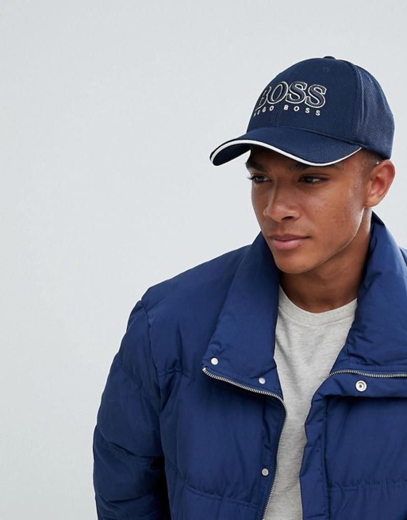 ボス メンズ 帽子 アクセサリー BOSS Cap US Logo Baseball Cap in Navy 410