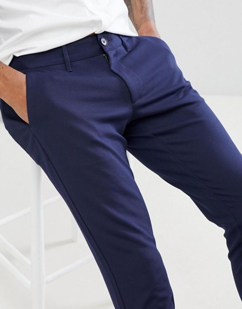 オンリーアンドサンズ メンズ カジュアルパンツ ボトムス Only & Sons Slim Fit Pants Dark navy