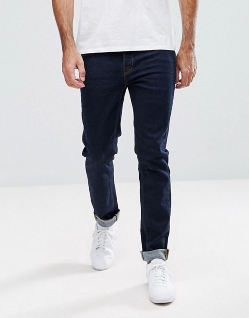 ホクストンデニム メンズ デニムパンツ ボトムス Hoxton Denim Skinny Jeans in Indigo Blue