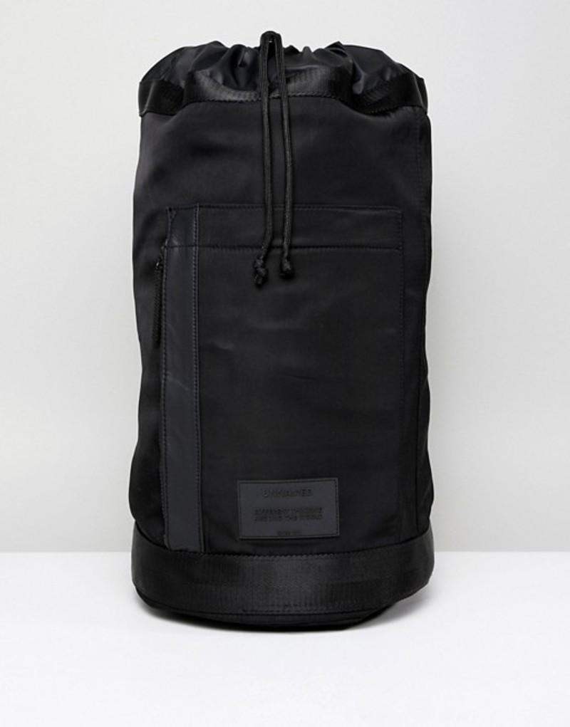 ベルシュカ メンズ バックパック・リュックサック バッグ Bershka Backpack In Black Black