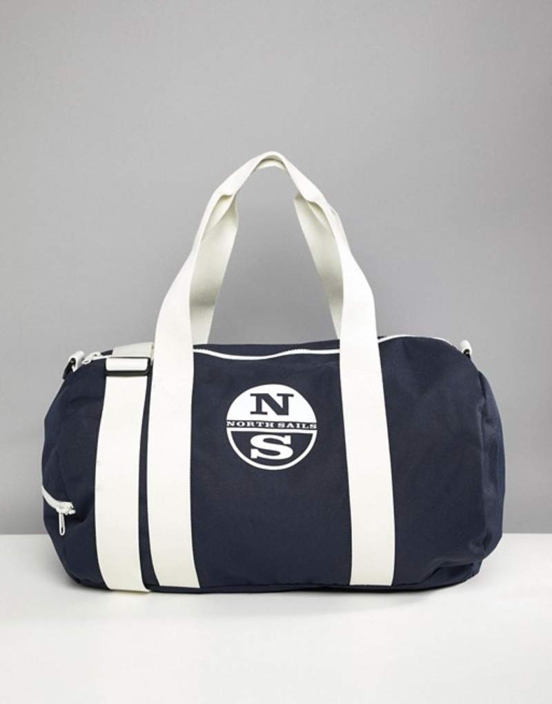 ノースセール メンズ ボストンバッグ バッグ North Sails Large Duffle Bag With Logo In Navy Navy