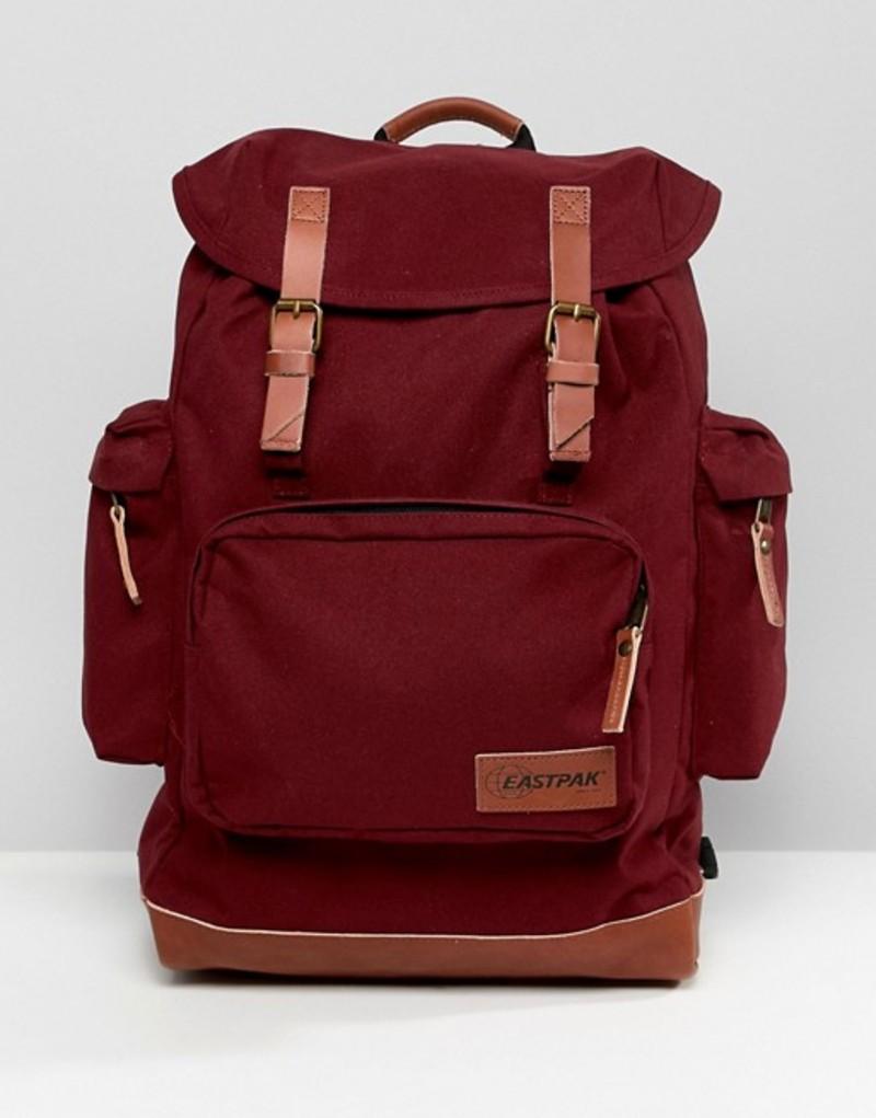 イーストパック メンズ バックパック・リュックサック バッグ Eastpak Mc Kale Tribe Merlot Backpack Red