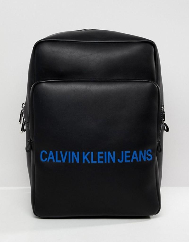 カルバンクライン メンズ バックパック・リュックサック バッグ Calvin Klein Jeans Backpack Black