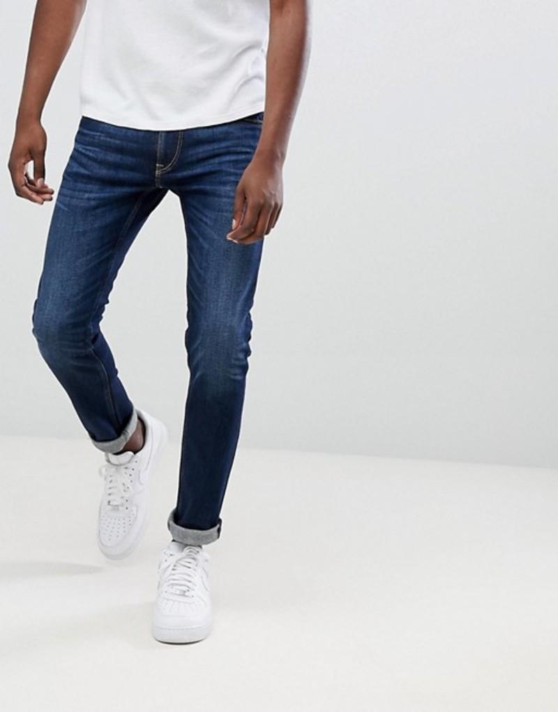 リプレイ メンズ デニムパンツ ボトムス Replay Jondrill skinny stretch jeans dark wash Dark wash