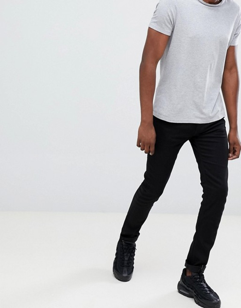 リプレイ メンズ デニムパンツ ボトムス Replay Jondrill skinny stretch jeans black Black
