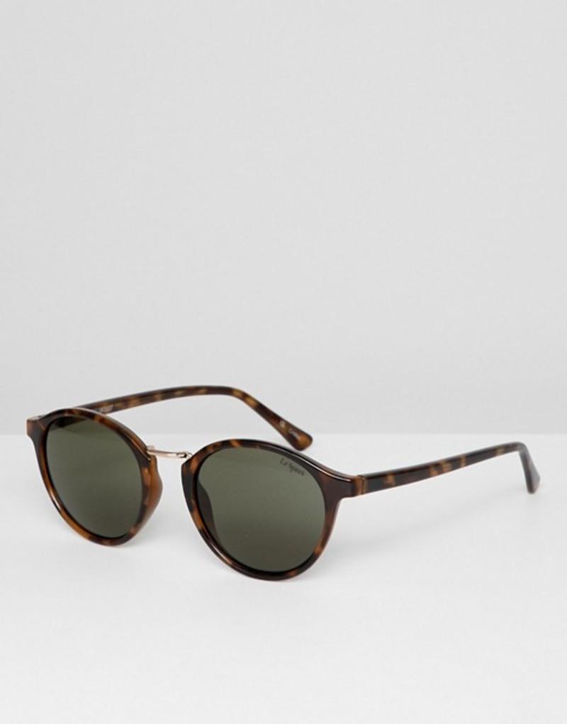 ルスペックス メンズ サングラス・アイウェア アクセサリー Le Specs paradox round sunglasses in tort Tort