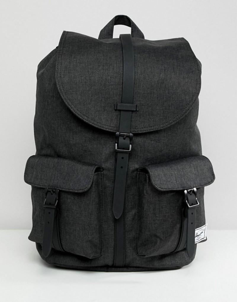ハーシャル メンズ バックパック・リュックサック バッグ Herschel Supply Co Dawson Backpack 20.5L Black