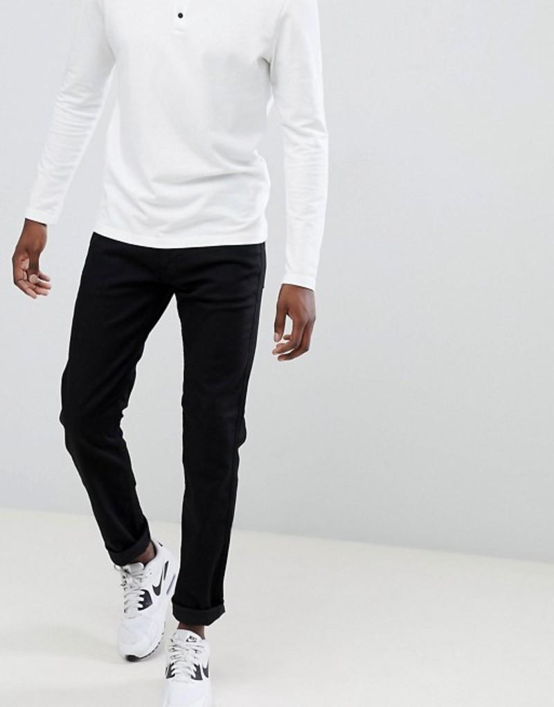 リプレイ メンズ デニムパンツ ボトムス Replay Anbass slim stretch jeans black Black
