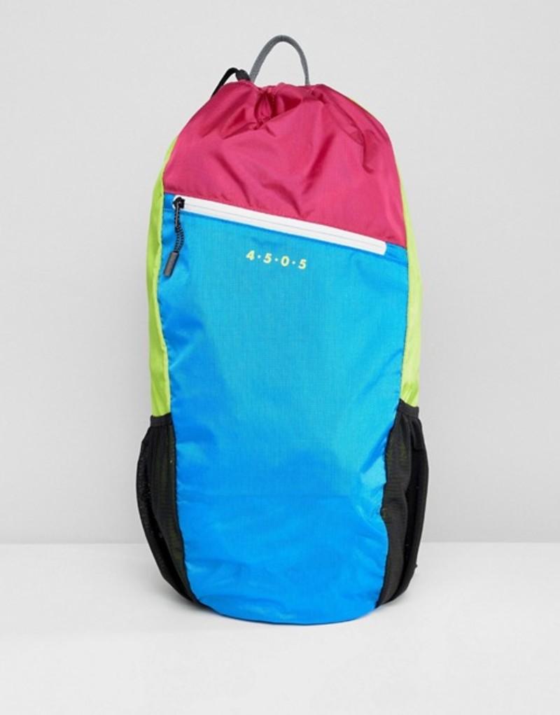 エイソス メンズ バックパック・リュックサック バッグ ASOS 4505 running backpack in neon color block Multi