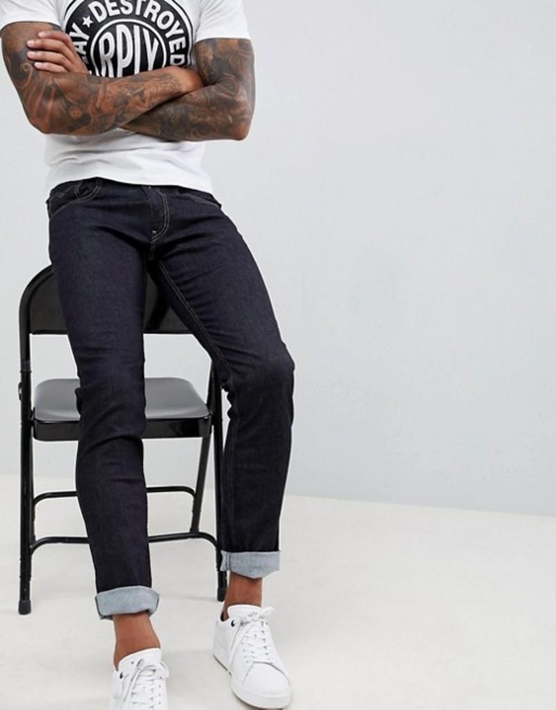 リプレイ メンズ デニムパンツ ボトムス Replay Anbass slim stretch jeans rinse wash Blue