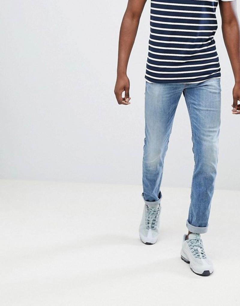 リプレイ メンズ デニムパンツ ボトムス Replay Anbass slim stretch jeans light wash Blue