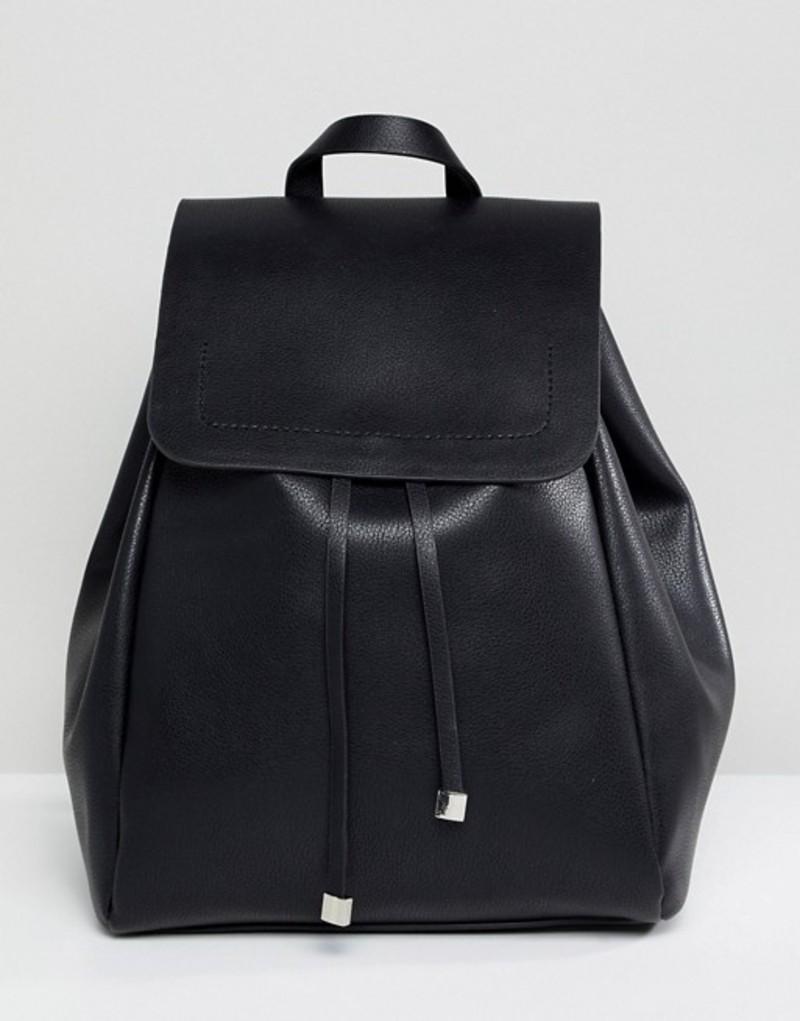 ピーシーズ レディース バックパック・リュックサック バッグ Pieces Easy Backpack Black