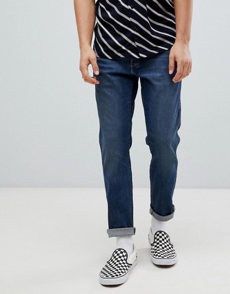 ラングラー メンズ デニムパンツ ボトムス Wrangler Slider Tapered Jeans Indigo Wit Indigo wit