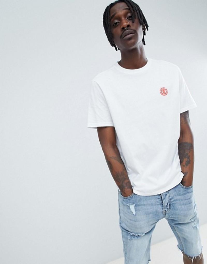 エレメント メンズ Tシャツ トップス Element x Keith Haring t-shirt with back print in white White