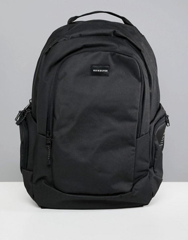クイックシルバー メンズ バックパック・リュックサック バッグ Quiksilver backpack in black Black