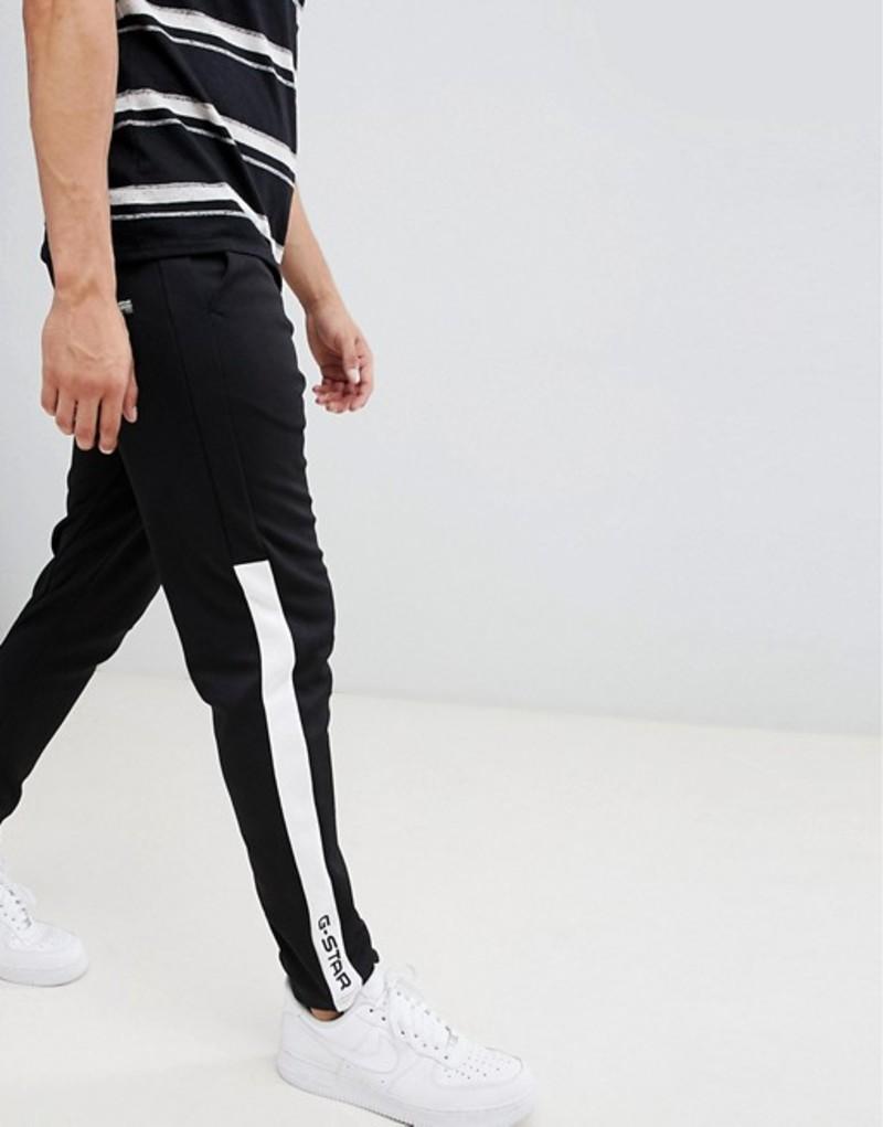 ジースター メンズ カジュアルパンツ ボトムス G-Star Rodis block sweat pant in black Black