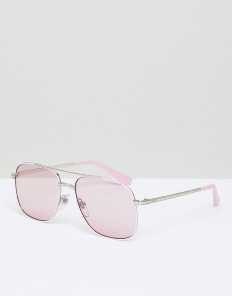 ヴォーグ メンズ サングラス・アイウェア アクセサリー Vogue Eyewear aviator sunglasses by gigi hadid in pink Pink