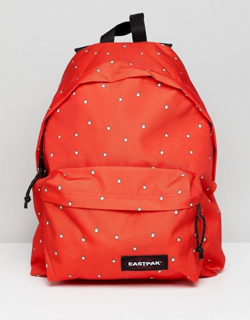 イーストパック レディース バックパック・リュックサック バッグ Eastpak Red Hand Cursor Padded Pak'r Backpack Red hands
