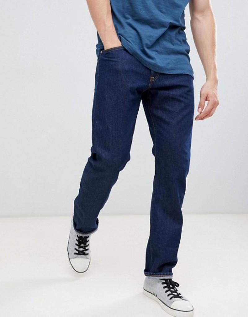 カルバンクライン メンズ デニムパンツ ボトムス Calvin Klein Jeans rinse straight jeans with logo back patch 1998 rinse