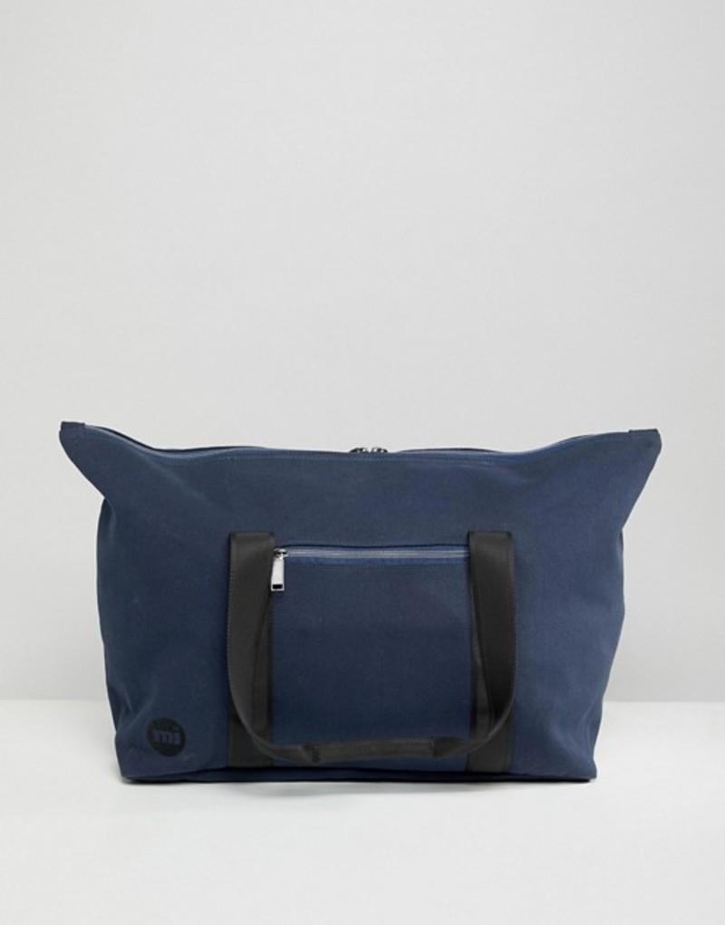 マイ・パック メンズ ボストンバッグ バッグ Mi-Pac canvas carryall bag in navy Navy