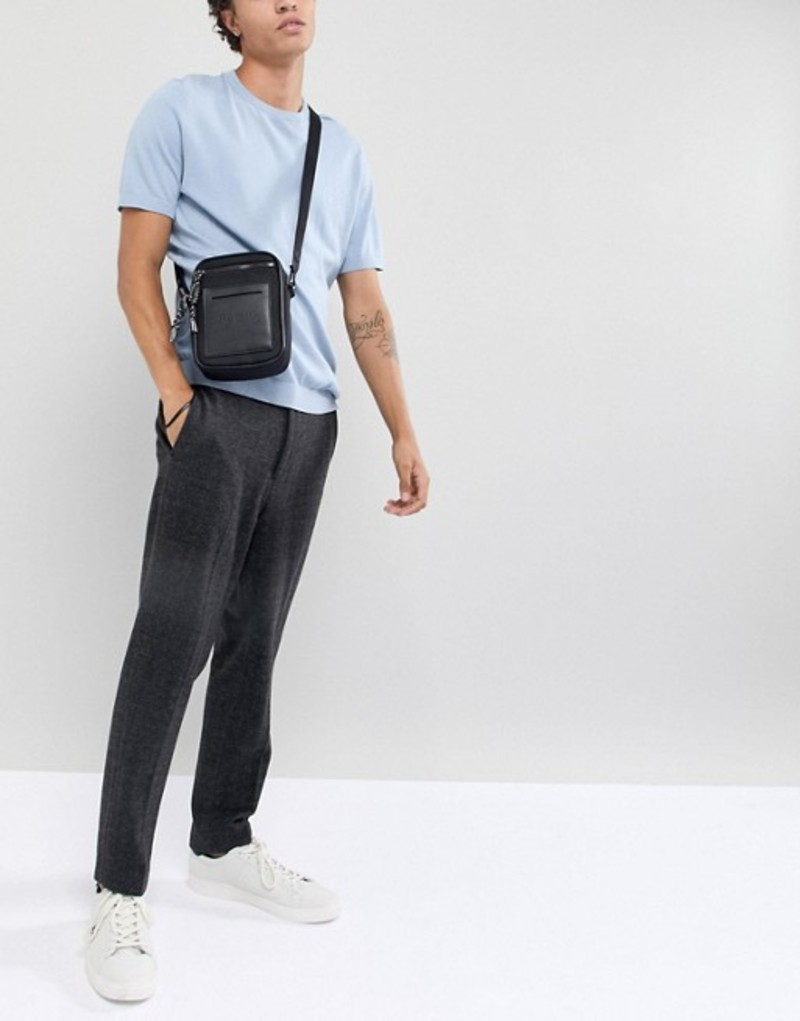 テッドベーカー メンズ トラベルケース・パスポートケース バッグ Ted Baker Mowse Flight Bag Black