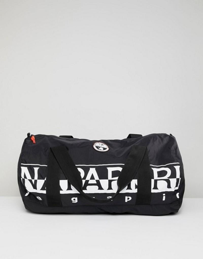 ナパピリ メンズ ボストンバッグ バッグ Napapijri Bering 1 Packable Duffel Bag In Black Black