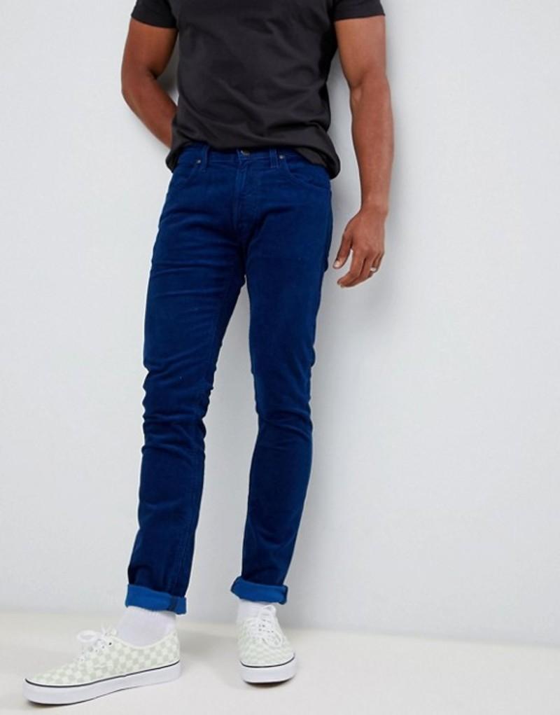 リー メンズ デニムパンツ ボトムス Lee luke skinny jeans indigo blue Indigo blue
