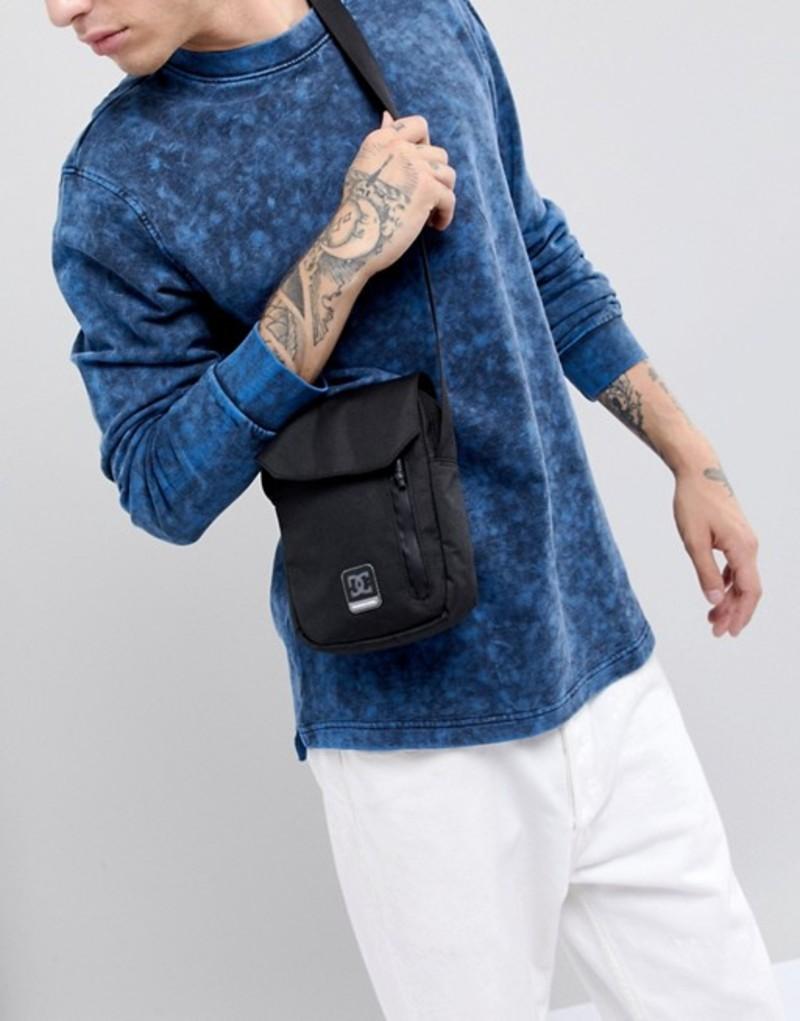 ディーシー メンズ トラベルケース・パスポートケース バッグ DC Shoes Flight Bag in Black Black
