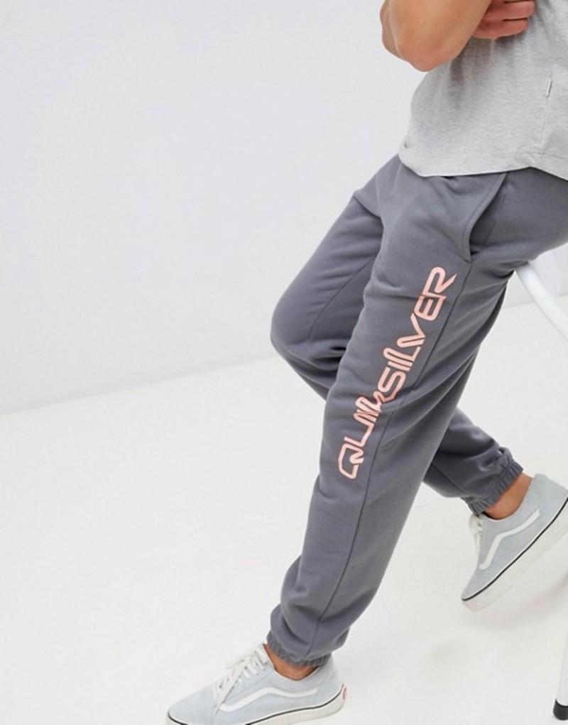 クイックシルバー メンズ カジュアルパンツ ボトムス Quiksilver Half Day Pants in Gray/Pink Black
