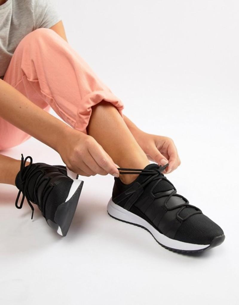 エイソス レディース スニーカー シューズ ASOS DESIGN Dollar sneakers Black