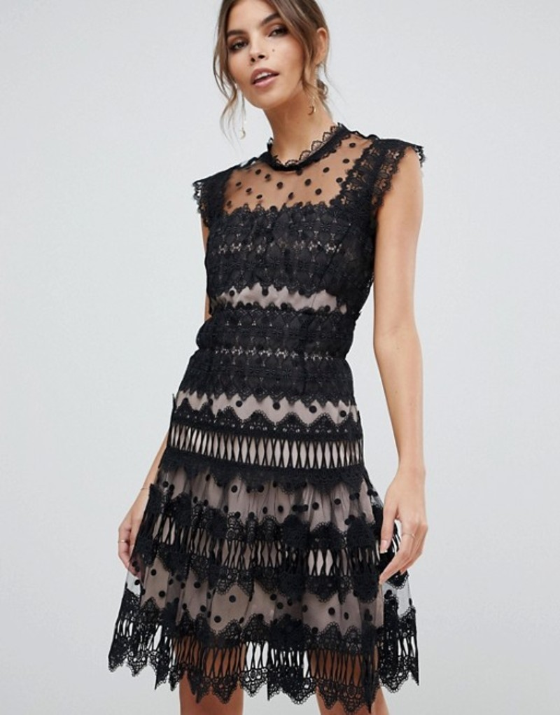 ブロンクス アンド バンコ レディース ワンピース トップス Bronx and Banco Majorka Mini Dress Black