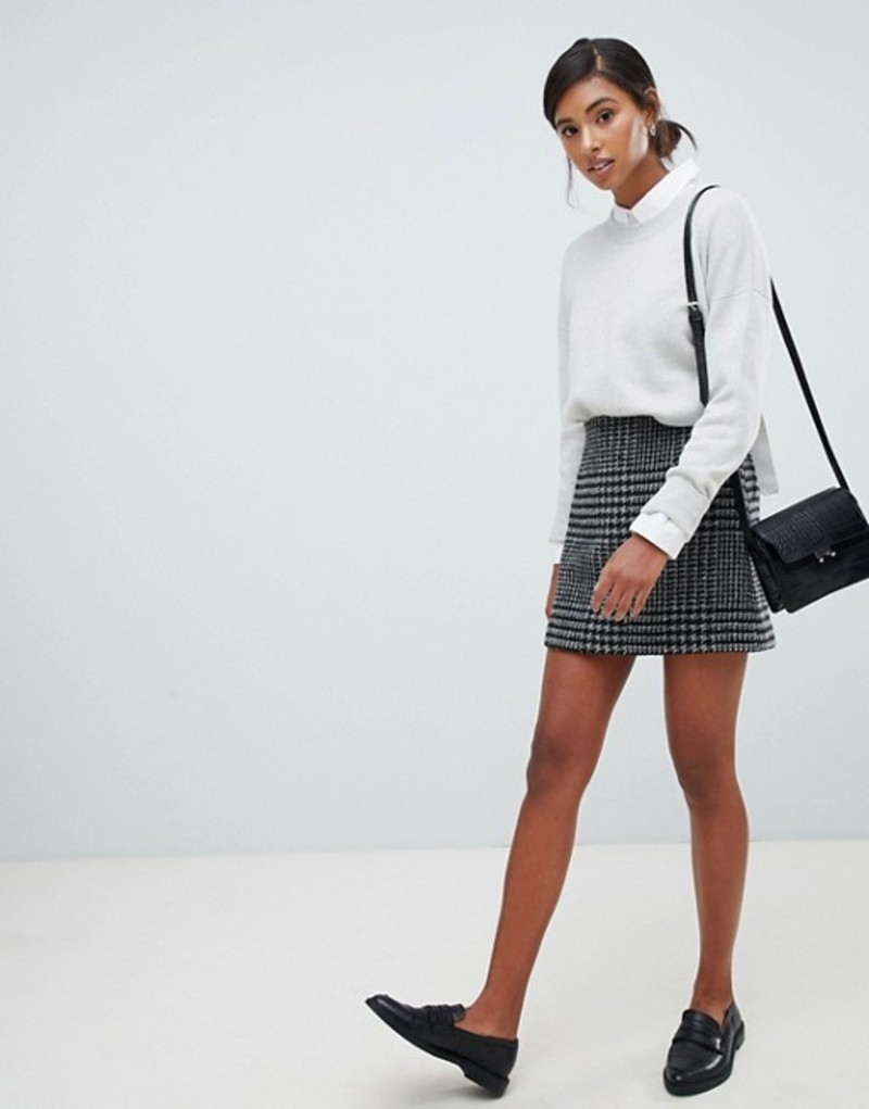 ジャック ウィルス レディース スカート ボトムス Jack Wills wool blend mini skirt Black
