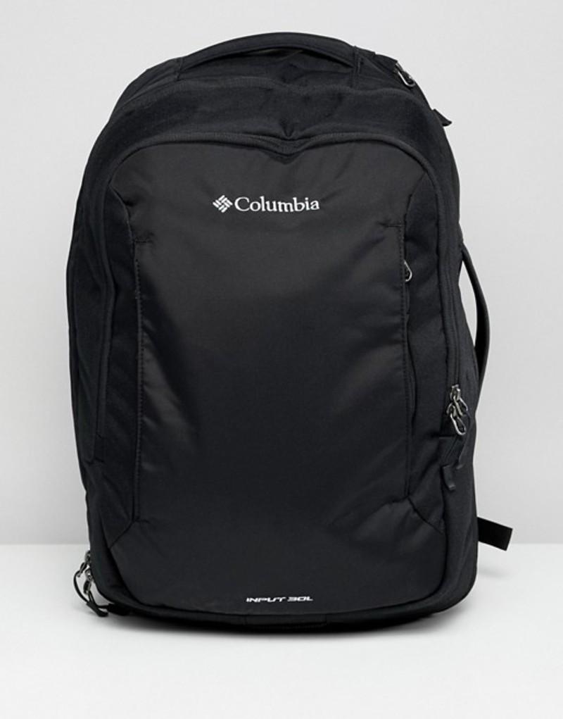 コロンビア メンズ バックパック・リュックサック バッグ Columbia Input 30L Backpack Black