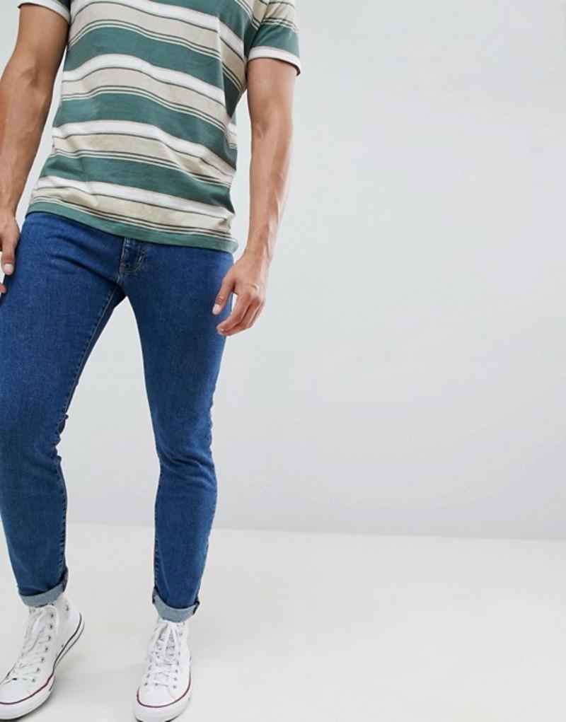 ラングラー メンズ デニムパンツ ボトムス Wrangler Bryson Skinny Jeans Bl1